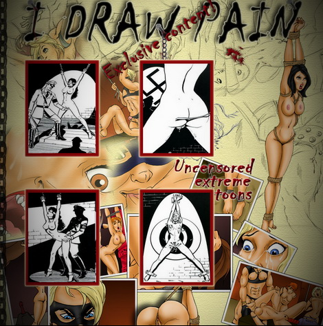 New porn site: I draw pain! - BDSM Comics I Draw Pain