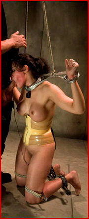 We have BDSM, bondage, submission, domination, hardcore sex, spanking, rope, sadism and masochism.