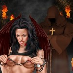 Hot bondage for celeb babe - BDSM Comics Celebs Dungeon