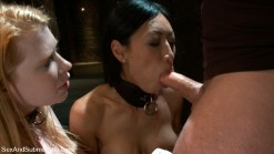 Jennifer bondaged by bartender - BDSM Pics Submission Sex