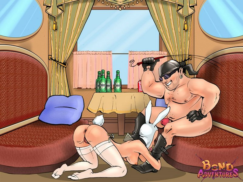 Playboy bunny loves hard sex bondagecartoon003