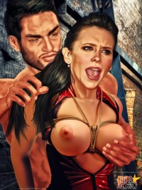 Drawn submission for celebs - BDSM Comics Celebs Dungeon