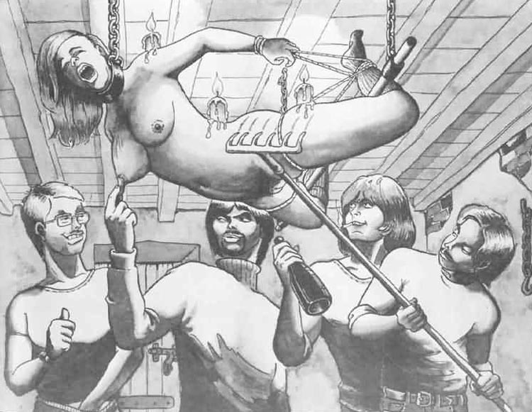 extreme bdsm torture drawings