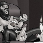 BDSM adventure of brutal sex - BDSM Comics Bond Adventures