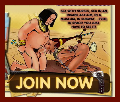 Raunchy girls - BDSM Comics Bond Adventures