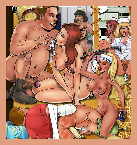 Female Domination comix - BDSM Comics Bond Adventures