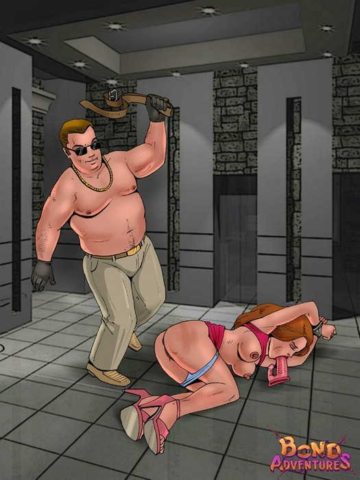 Hottest prisoners - BDSM Comics Bond Adventures