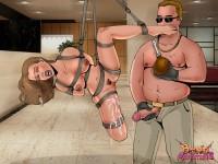 Hottest prisoners - BDSM Comics Bond Adventures
