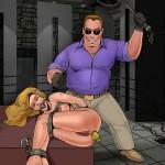 Fire game - BDSM Comics Bond Adventures