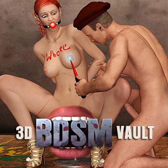 3D BDSM Vault - BDSM 3D Art