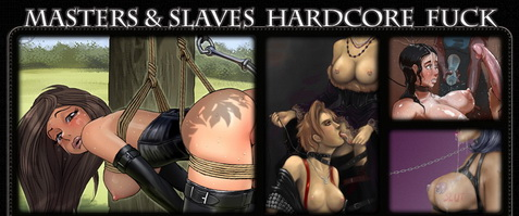 Cum on a bitch - BDSM Comics